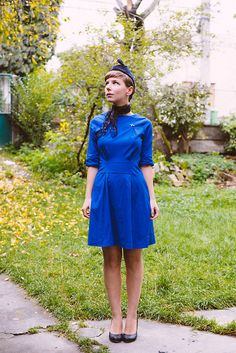 Daria P - Shabby Apple Dress - Retro flight attendant