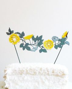 The Shoppe by Madeline Trait Rose Flower Garland Topper