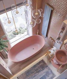 2020 Bathroom Interior Design Ideas - Page 4 of 5 - Kat's Beauty Book Bad Inspiration, Bathroom Inspiration, Interior Inspiration, Dream Bathrooms, Beautiful Bathrooms, Pink Bathrooms, Luxurious Bathrooms, Bathroom Interior Design, Modern Interior