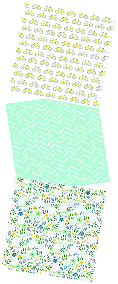 This new line of illustrated fabrics has us running for our pinking shears.