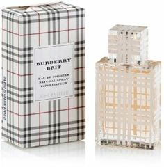 Burberry Brit Eau de Toilette - 1 oz by Burberry. $114.41. Product DescriptionFresh and cheeky, Burberry Brit is modern, alive, and radiant. For casual or career wear, fashionable women pair with plaid.