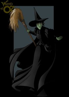 the wicked witch of the west by nightwing1975.deviantart.com