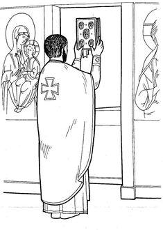 Πνευματικοί Λόγοι: Μιά απλή και περιεκτική εξήγηση της Θείας Λειτουργίας Sunday School Curriculum, Sunday School Crafts, Orthodox Priest, Prayer For Church, Bible Activities For Kids, Eucharist, Last Supper, Catechism, Orthodox Icons