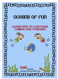 Oceans of Fun: Aligned with 1st and 2nd grade Common Core $7
