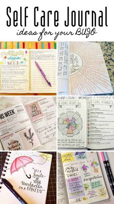 These bullet journal self care journal ideas are just what you need to be more mindful and take care of your mental health and wellbeing bulletjournal selfcare journaling 276549233356482075 Bullet Journal For Kids, Bullet Journal Mental Health, Self Care Bullet Journal, Bullet Journal For Beginners, Bullet Journal Notebook, Bullet Journal Layout, Bullet Journal Inspiration, Book Journal, Journal Ideas