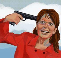 沒有人用槍指著我們,逼我們吃動物 圖:Zina Saunders