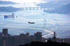 Sobre a ponte Rio Niterói Rio de Janeiro.R/J