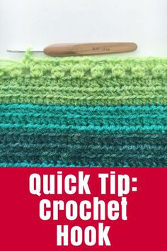 Quick Tip: Crochet H