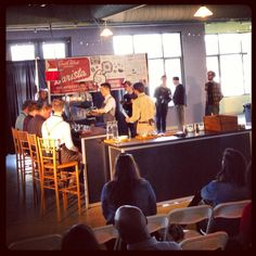 Day one of the South West Regional Barista Competition. Bobby Competes day two!