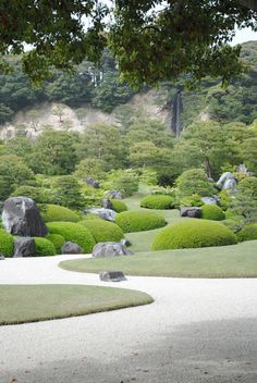 Japanese Garden of Adachi Museum, Shimane, Japan 足立美術館