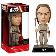 Buy Star Wars The Force Awakens Rey Wacky Wobbler Bobble Head from Pop In A Box UK, the home of Funko Pop Vinyl subscriptions and more. Paw Patrol, Minions Star Wars, Star Wars Rey, Star Trek, Star Wars Episodio Vii, Regalos Star Wars, Wacky Wobbler, Funko Pop Star Wars, Episode Vii