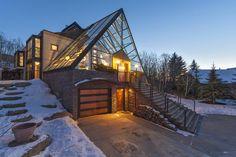 Spectacular Views Through a Glass Roof, Calgary, Canada