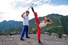 This is #amazing #Karate act.