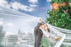 Fotka v albu Wedding photoshooting - Misura Travel & Bossy Photo Studio… Wedding Photoshoot, Photo Studio, Prague, Wedding Dresses, Travel, Fashion, Bride Gowns, Voyage, Wedding Gowns