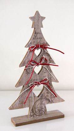 Wooden Nordic Christmas Tree - Click Image to Close Wooden Christmas Decorations, Christmas Wood Crafts, Scandinavian Christmas, Christmas Love, Rustic Christmas, Christmas Projects, Winter Christmas, Holiday Crafts, Christmas Ornaments