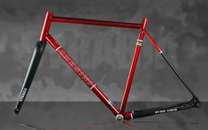 Bicycle Paint Job, Bicycle Painting, Custom Bikes, Cycling, Cherry, Frames, Corner, Concept, Design