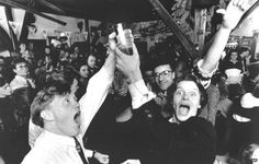 Why Iceland Banned Beer. Image: Icelanders celebrate the legalisation of beer, 1 March 1989