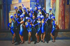 The Brooklyn Dancers olv Lucia Marthas. Roaring Twenties, Big Apple. brooklyn-nights.nl