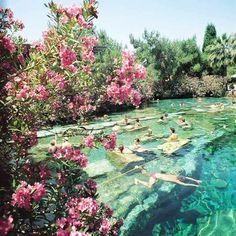 Pools of Pamukkale, Turkey!