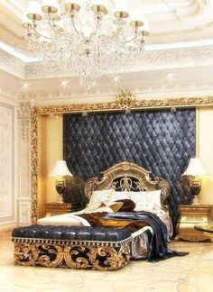 ***Home Interiors : Bedroom Luxurious***
