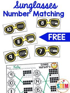 I'm excited to try these number puzzles in my kindergarten classroom! It would be a great math center for pre-k too. #mathforkids #mathmadecool #mathcenter
