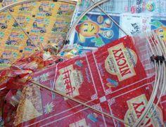 Cometas de paquetes (India)