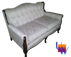 Vintage Tufted Love Seat By Upholstery Works. Las Vegas, NV Http://