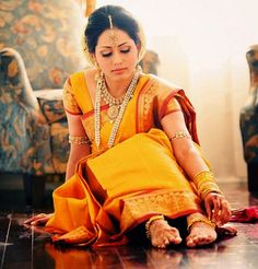 south indian bridal makeup for reception