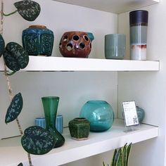 "@bloesem blogs's photo: ""Vintage Ceramics and glassware at #moooi"""