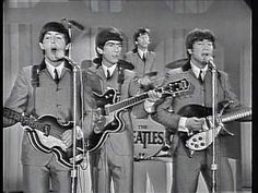 THE BEATLES - I WANT TO HOLD YOUR HAND FEBRUARY 16 - 1964  The Ed Sullivan Show