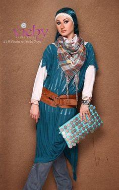 Egyptian hijab style 5