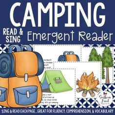 Camping early reader