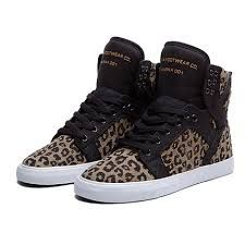 Shop Kids  Supra Brown Black size Sneakers at a discounted price at  Poshmark. Description  Supra KIDS-SKYTOP HIGH TOP SNEAKERS in Cheetah Print. 02b98a31bb