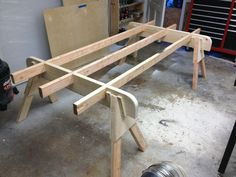 Please show me your plywood cutting tables!