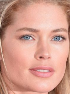 Close-up of Doutzen Kroes at the 2016 Cannes premiere of 'Cafe Society'. http://beautyeditor.ca/2016/05/24/cannes-film-festival-2016
