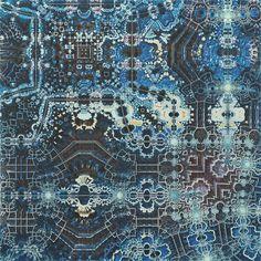 Elaboration #fractal #fractalart #art #pattern #abstract #abstractart #thefractalist #beautiful #contemporaryart #rsa_graphics #ratedmodernart #surreal42