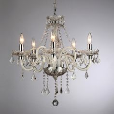 Gilliane Chrome Chandelier - $263