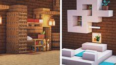 Modern Minecraft Houses, Images Minecraft, Minecraft Mansion, Minecraft Room, Minecraft House Designs, Minecraft Crafts, Minecraft Skins, Minecraft Buildings, Creeper Minecraft