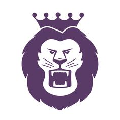 We very excited to be asked to design a lion logo for a new local high school. However they ended up going in another direction, but we're still pretty jazzed with how it turned out. #graphic_design #graphicdesign #branding #logo_inspiration #lion #monarch #royal #purple #animal_logo