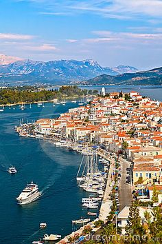 Poros island, Greece (only 31 nautical miles south from Athens. Greek Islands To Visit, Greece Islands, Dream Vacations, Vacation Spots, Poros Greece, Athens Greece, Mykonos Greece, Crete Greece, Beautiful Islands