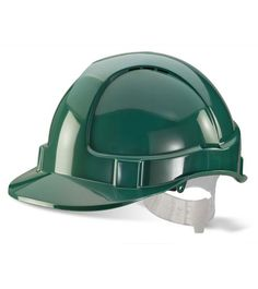 10 x B-Brand Economy Vented ABS Shell Stylish Lightweight Safety Hard Hat Helmet Safety Workwear, Safety Helmet, Hard Hats, Headgear, Stylish, Green, Leather, Ebay, Helmet Accessories