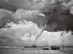 Tornado Roping Out In North Dakota…  Photo By Mitch Dobrowner.