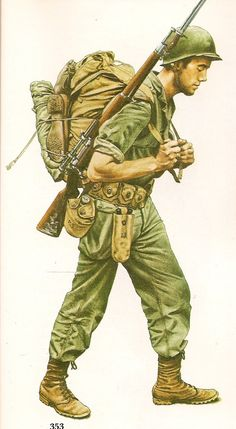 Private, US Army, 1944. Pin by Paolo Marzioli