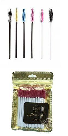 Eyelash Tools: Alincas 500 Pcs Disposable Eyelash Mascara Wand Applicator Brush Cosmetic Eye / -> BUY IT NOW ONLY: $43.33 on eBay!