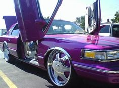 Lincoln Town Car Low Rider Wheels