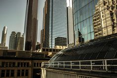 Down-town Toronto from Eaton Centre  #city #down-town #toronto #eaton #centre #photography