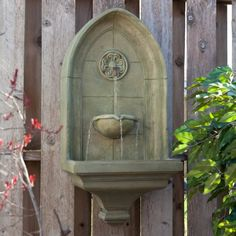 Kenroy Canterbury Wall Outdoor Fountain