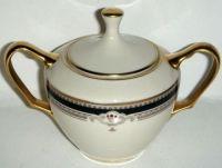 Lenox Buchanan  Sugar Bowl & Lid
