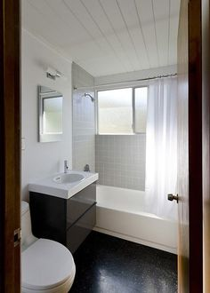 achievable inspiration for a small bathroom.