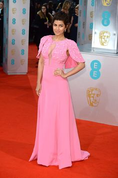 Nimrat Kaur.   Here Are All The Celebrities Who Attended The BAFTAs